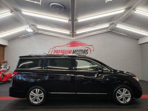 2012 Nissan Quest for sale at Premium Motors in Villa Park IL