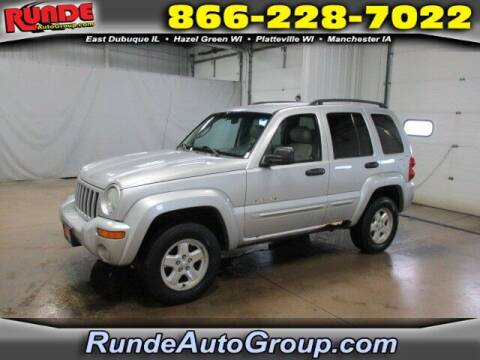 2002 Jeep Liberty for sale at Runde PreDriven in Hazel Green WI