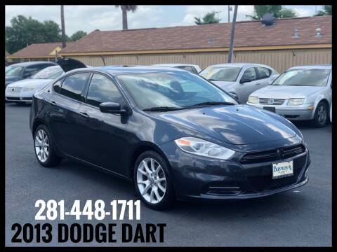 2013 Dodge Dart for sale at ASTRO MOTORS in Houston TX