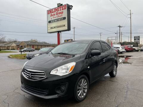 2018 Mitsubishi Mirage G4 for sale at Unlimited Auto Group in West Chester OH