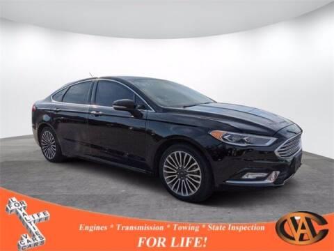 2017 Ford Fusion for sale at VA Cars Inc in Richmond VA