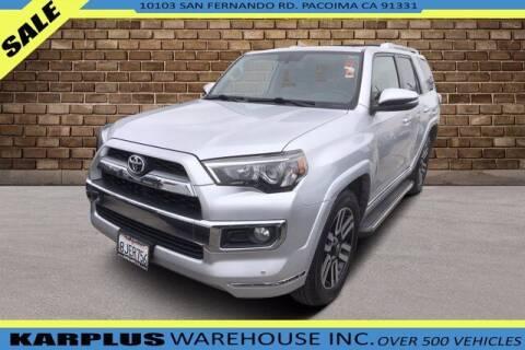2017 Toyota 4Runner for sale at Karplus Warehouse in Pacoima CA