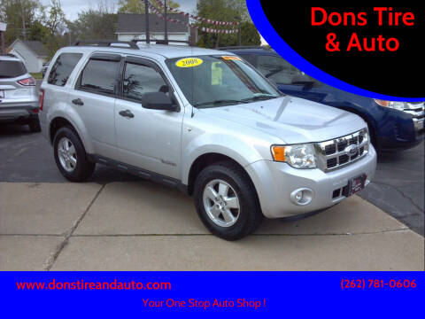 2008 Ford Escape for sale at Dons Tire & Auto in Butler WI