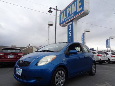 2007 Toyota Yaris for sale at Alpine Auto Sales in Salt Lake City UT