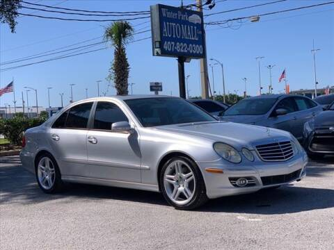 2008 Mercedes-Benz E-Class for sale at Winter Park Auto Mall in Orlando FL