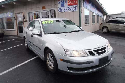 2004 Saab 9-3 for sale at 777 Auto Sales and Service in Tacoma WA