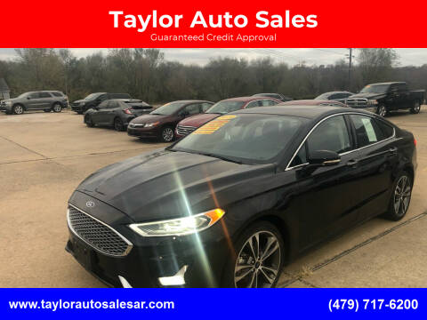 2019 Ford Fusion for sale at Taylor Auto Sales in Springdale AR