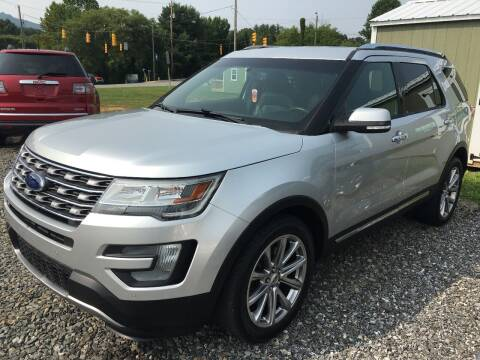 2016 Ford Explorer for sale at M&L Auto, LLC in Clyde NC