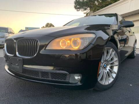 2012 BMW 7 Series for sale at North Georgia Auto Brokers in Snellville GA