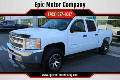2013 Chevrolet Silverado 1500 for sale at Epic Motor Company in Chantilly VA