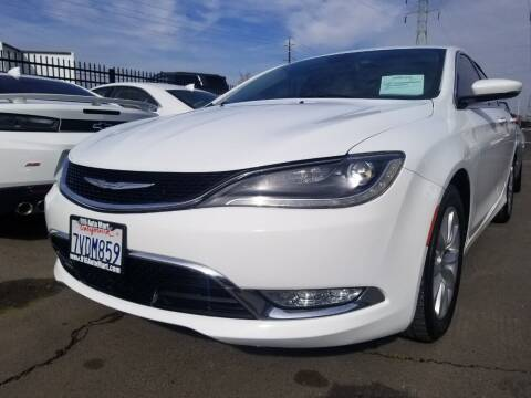 2016 Chrysler 200 for sale at 916 Auto Mart ONLY $399 DOWN!!!* in Sacramento CA