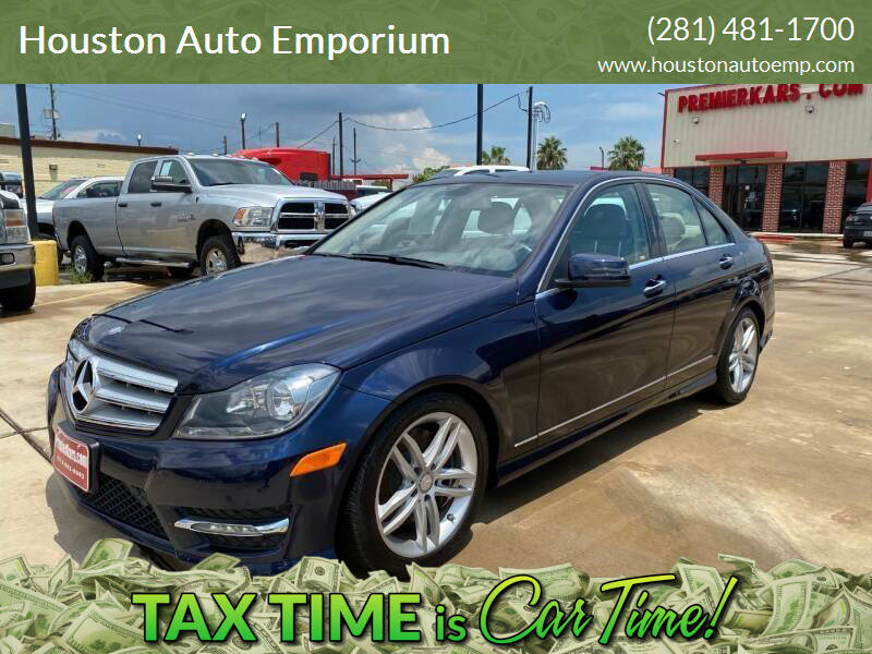 2013 Mercedes-Benz C-Class for sale at Houston Auto Emporium in Houston TX