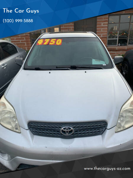 2008 Toyota Matrix for sale at The Car Guys in Tucson AZ