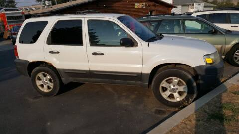 2006 Ford Escape for sale at BRAMBILA MOTORS in Pocatello ID