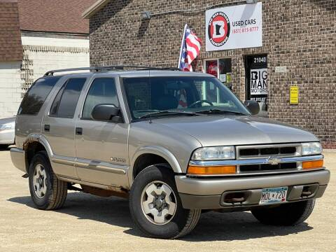 2002 Chevrolet Blazer for sale at Big Man Motors in Farmington MN
