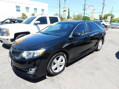 2013 Toyota Camry for sale at Williams Auto Mart Inc in Pacoima CA