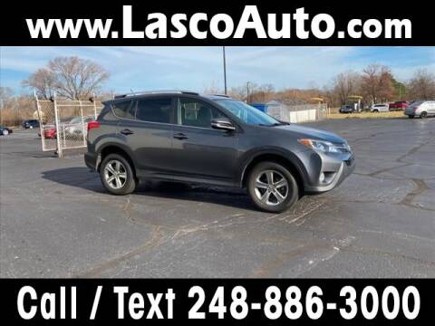 2015 Toyota RAV4 for sale at Lasco of Waterford in Waterford MI