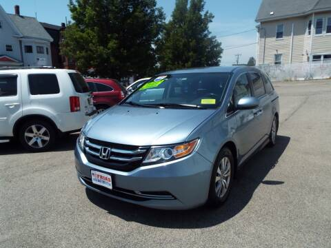 2014 Honda Odyssey for sale at FRIAS AUTO SALES LLC in Lawrence MA
