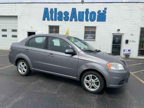 2011 Chevrolet Aveo for sale at Atlas Auto in Rochelle IL
