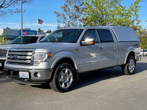 2013 Ford F-150 for sale at GO AUTO BROKERS in Bellevue WA