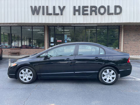 2007 Honda Civic for sale at Willy Herold Automotive in Columbus GA