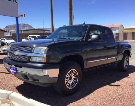 2005 Chevrolet Silverado 1500 for sale at SPEND-LESS AUTO in Kingman AZ
