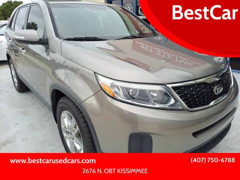 2014 Kia Sorento for sale at BestCar in Kissimmee FL