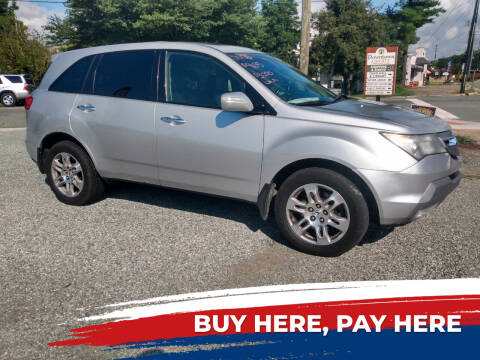2008 Acura MDX for sale at HWY 49 MOTORCYCLE AND AUTO CENTER in Liberty NC