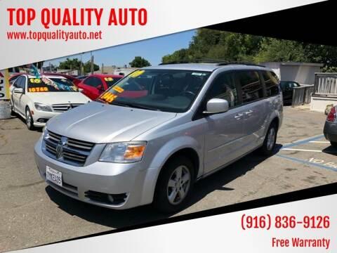2010 Dodge Grand Caravan for sale at TOP QUALITY AUTO in Rancho Cordova CA