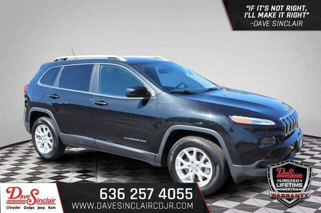 2014 Jeep Cherokee for sale at Dave Sinclair Chrysler Dodge Jeep Ram in Pacific MO
