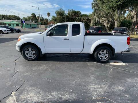 2007 Nissan Frontier for sale at BSS AUTO SALES INC in Eustis FL