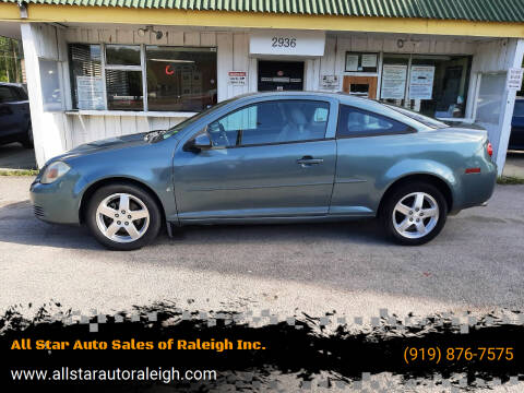 2009 Chevrolet Cobalt for sale at All Star Auto Sales of Raleigh Inc. in Raleigh NC