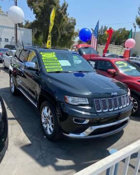 2014 Jeep Grand Cherokee for sale at 2955 FIRESTONE BLVD - 3271 E. Firestone Blvd Lot in South Gate CA