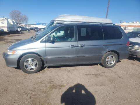 1999 Honda Odyssey for sale at PYRAMID MOTORS - Fountain Lot in Fountain CO