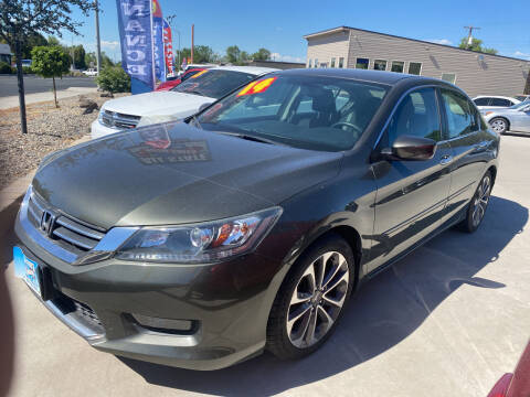 2014 Honda Accord for sale at Allstate Auto Sales in Twin Falls ID