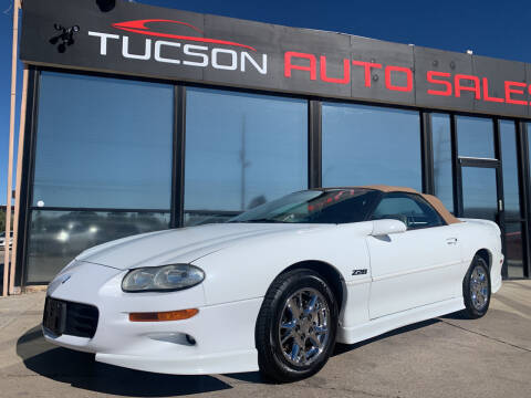 2002 Chevrolet Camaro for sale at Tucson Auto Sales in Tucson AZ
