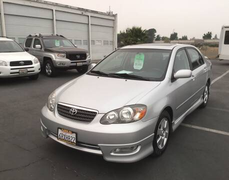 2008 Toyota Corolla for sale at My Three Sons Auto Sales in Sacramento CA