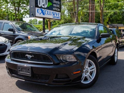 2014 Ford Mustang for sale at EXCLUSIVE MOTORS in Virginia Beach VA