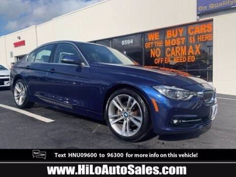 2017 BMW 3 Series for sale at Hi-Lo Auto Sales in Frederick MD