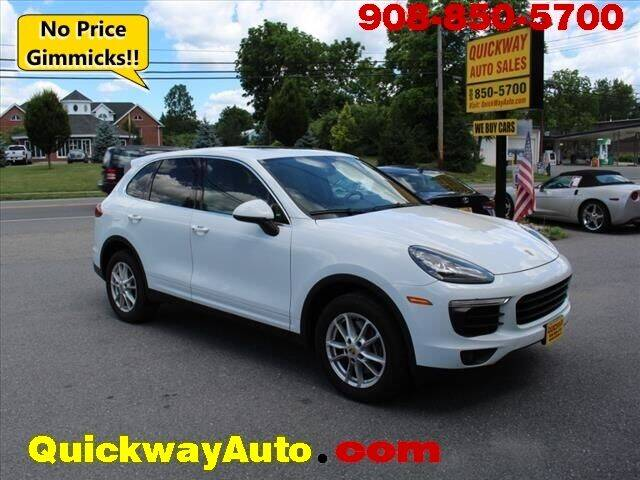 2016 Porsche Cayenne for sale at Quickway Auto Sales in Hackettstown NJ