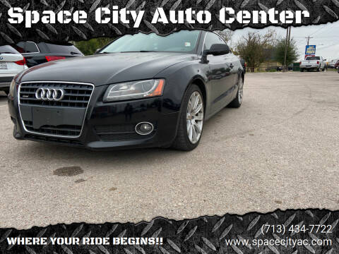 2011 Audi A5 for sale at Space City Auto Center in Houston TX