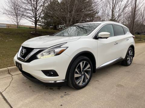 2015 Nissan Murano for sale at Western Star Auto Sales in Chicago IL