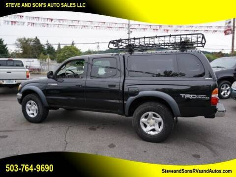 2002 Toyota Tacoma for sale at Steve & Sons Auto Sales in Happy Valley OR
