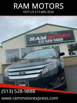 2012 Ford Fusion for sale at RAM MOTORS in Cincinnati OH
