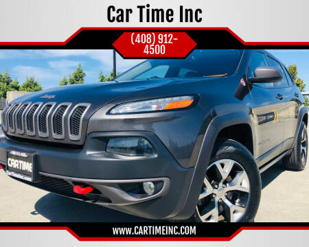 2014 Jeep Cherokee for sale at Car Time Inc in San Jose CA