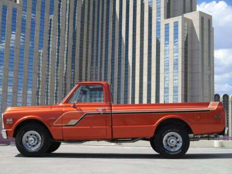 1972 Chevrolet C/K 10 Series for sale at Sierra Classics & Imports in Reno NV