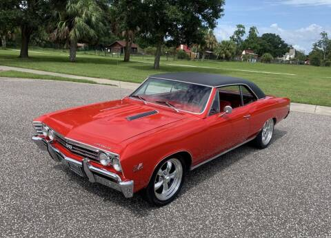 1967 Chevrolet Chevelle for sale at P J'S AUTO WORLD-CLASSICS in Clearwater FL