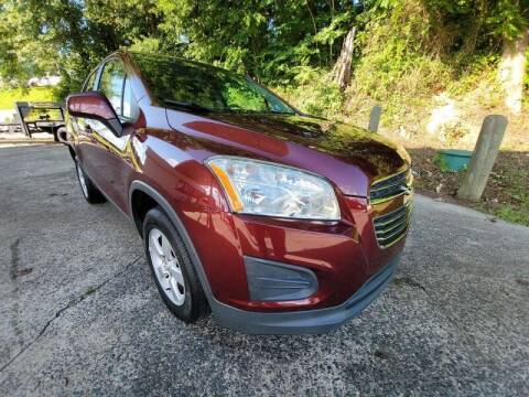 2016 Chevrolet Trax for sale at McAdenville Motors in Gastonia NC