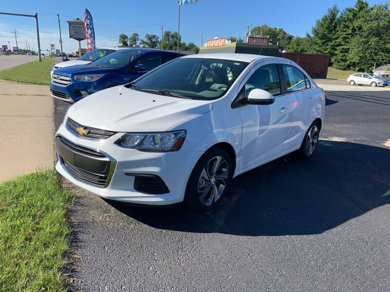 2019 Chevrolet Sonic for sale at GENE AND TONYS DEMOTTE AUTO SALES in Demotte IN