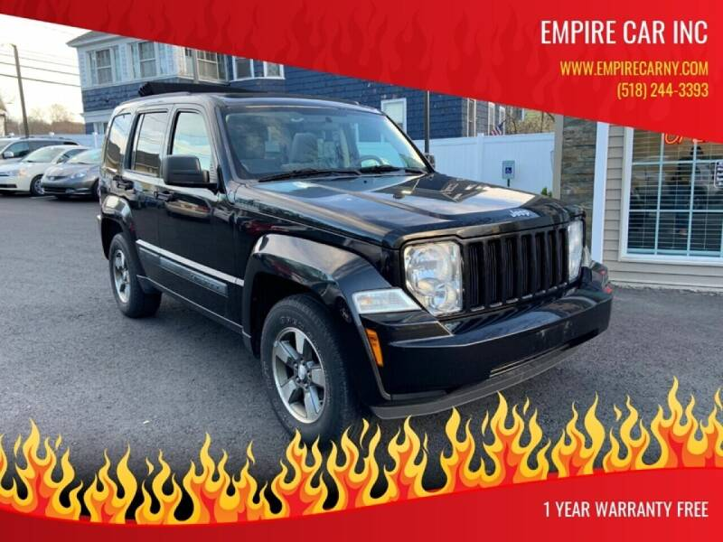 2008 Jeep Liberty for sale at EMPIRE CAR INC in Troy NY